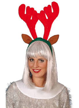 Lite-up Reindeer Antlers, Christmas Fancy Dress Accessories