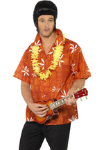 Elvis Hawaii Shirt, Evis Presley Blue Hawaii Costume