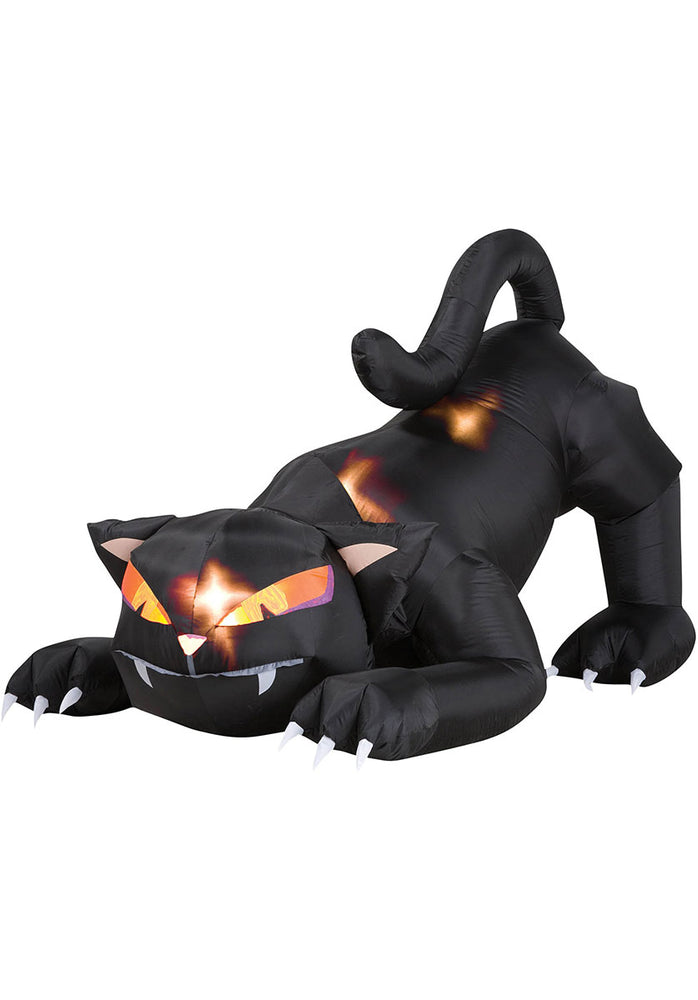 Animated Cat Halloween Decoration, 6ft Long