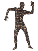 Camouflage Second Skin Costume