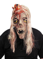 Alien Emerging From Head, 3/4 Mask Hair Smiffys fancy dress