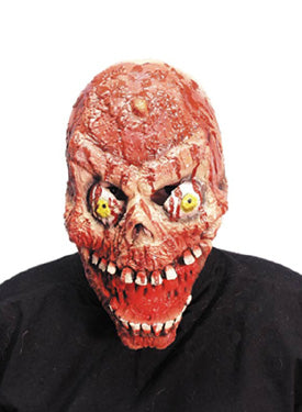 Bloody FLESH Skull 3/4 Mask Smiffys fancy dress