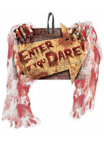 Enter if you Dare Wall Sign