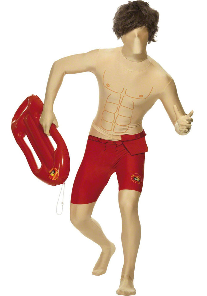 Baywatch Costume, Second Skin Fancy Dress