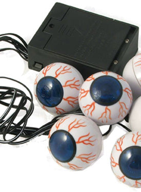 Eyeballs, Lite Up Battery Powered Smiffys fancy dress
