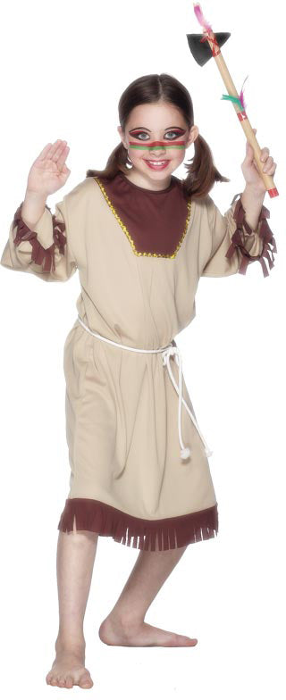 Indian Girl Costume, Childrens Fancy Dress