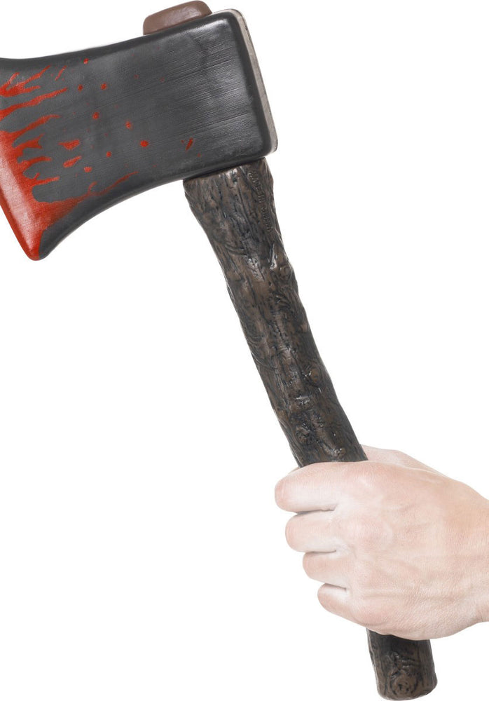Halloween Toy Axe with Blood Splatters