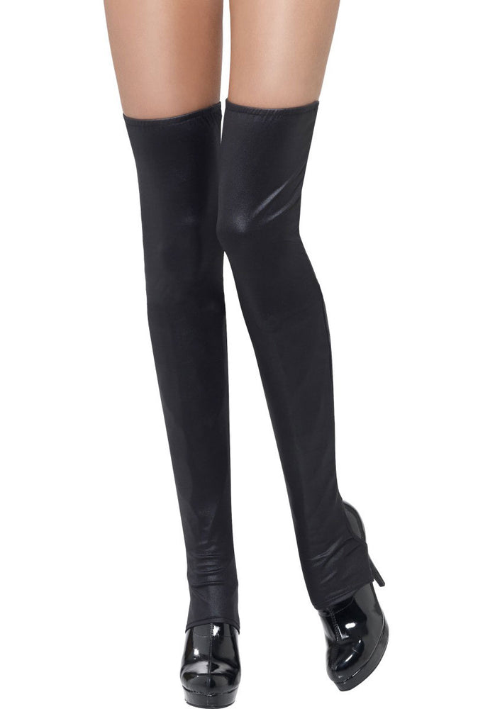 Black Thigh High Boot covers