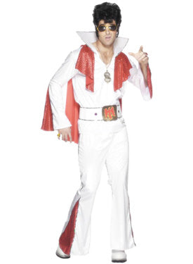 Rocker Costume White Smiffys fancy dress