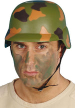 Army SQUADRON Hard Hat, Camouflage Smiffys fancy dress