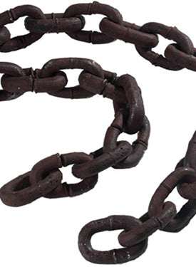 Chain, Large, Rusty, 180cm Long Smiffys fancy dress