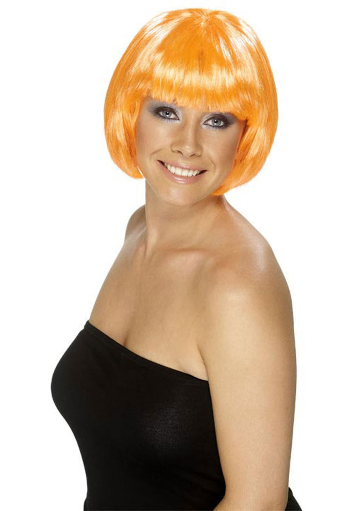 babe Wig - Fire Orange Colour