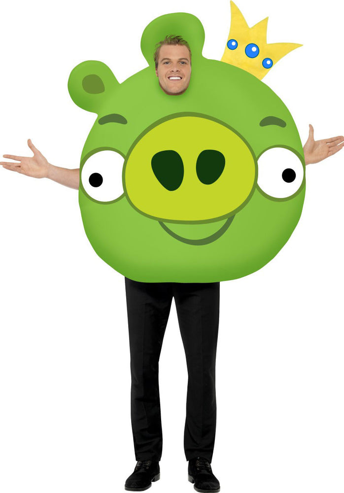 Green Pig Costume, Angry Birds Fancy Dress