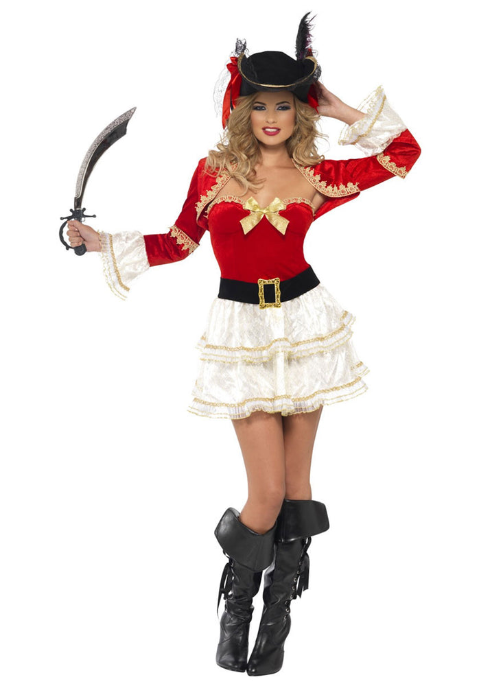 Fever Boutique Plentiful Pirate Costume