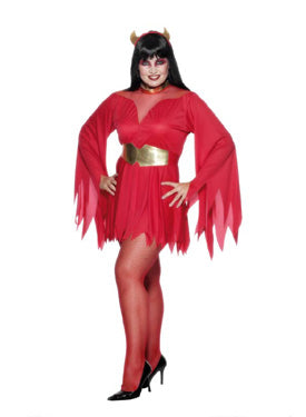 Devil Sexy Costume X-Large, Halloween Fancy Dress
