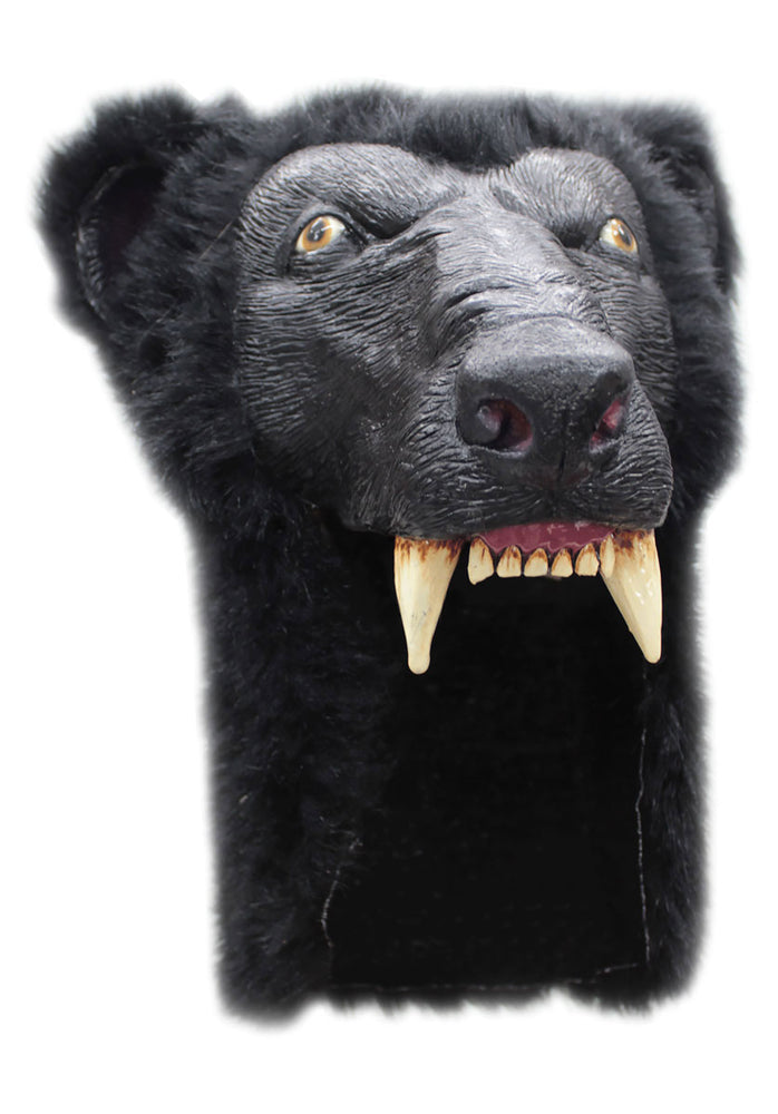 Black Bear Latex Helmet