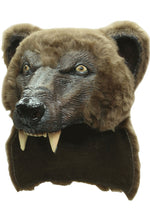 Brown Bear Latex Helmet
