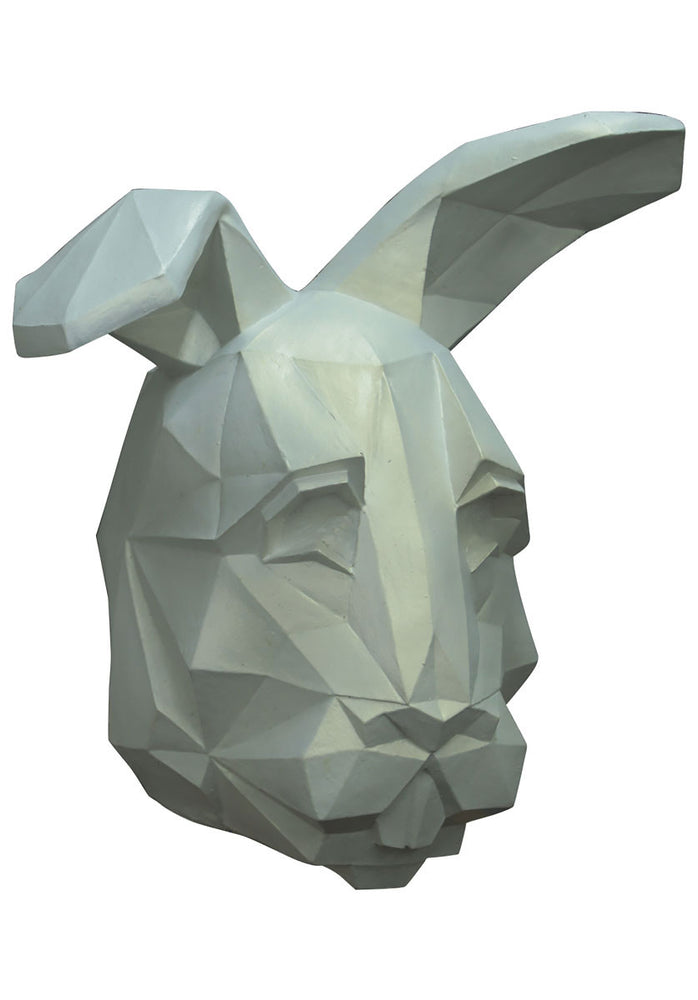 Low Poly Bunny Latex Mask