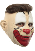 Friendly Clown Mask with Customisable Hairstyle