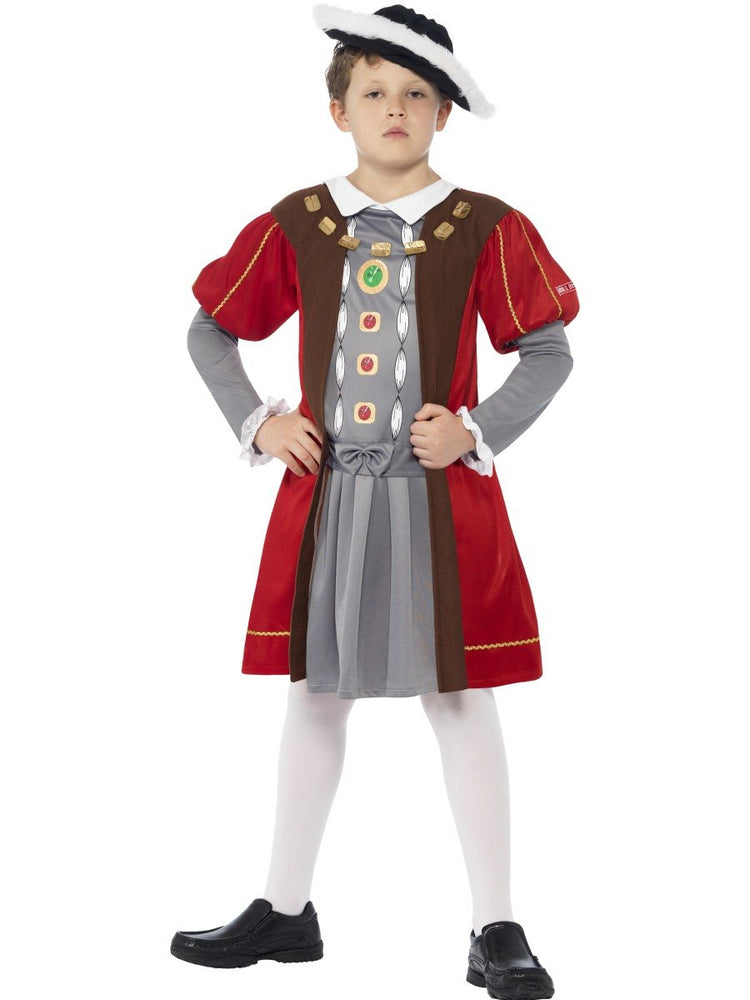Henry the VIII Costume - Horrible Histories, Child