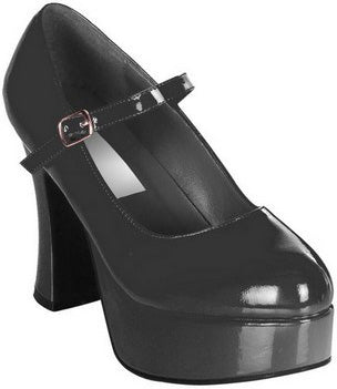 Black Fever Dolly Shoes S/M