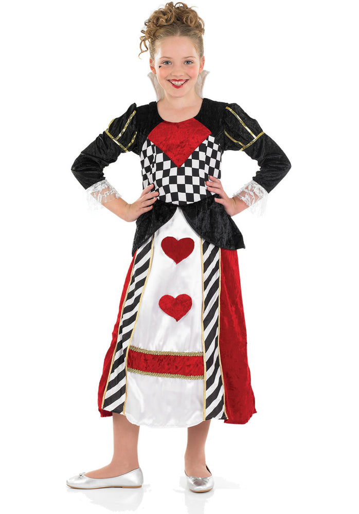 Little Queen Of Hearts Kids Costume
