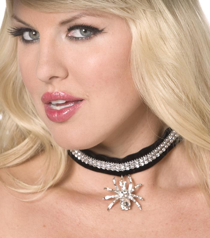 Spider Choker, Halloween Fancy Dress Accessories