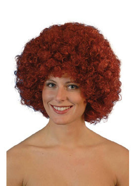 Pop Wig Auburn Best Quality Smiffys fancy dress