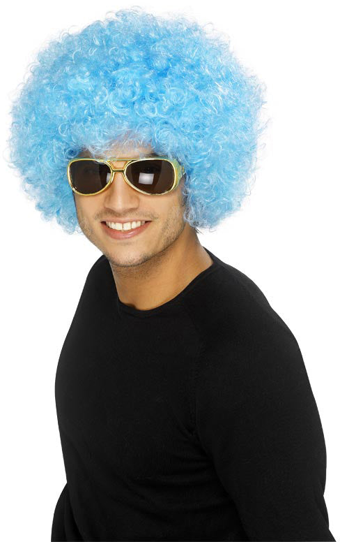 Pop Wig Blue Best Quality Smiffys fancy dress