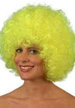 Pop Wig Deluxe Neon Yellow