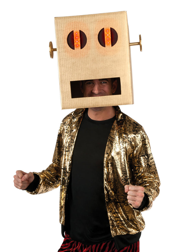 Robot Pete Headpiece, Fancy Dress Accessories