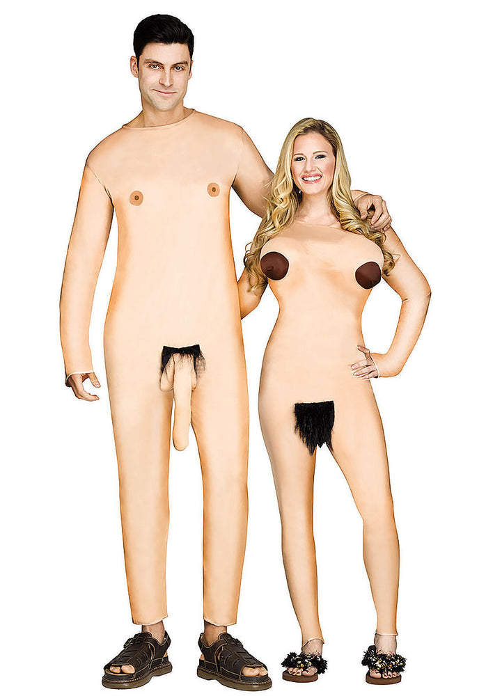 Nudist Couple Costume