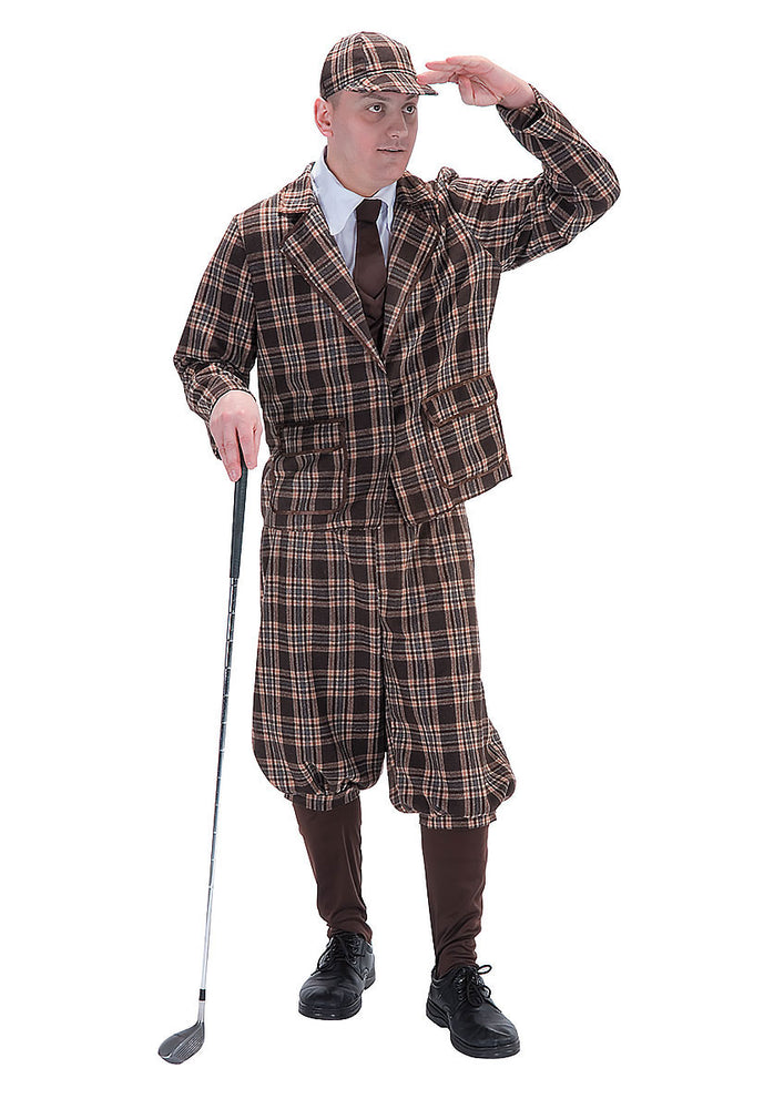 1930s Golfer Adult Costume