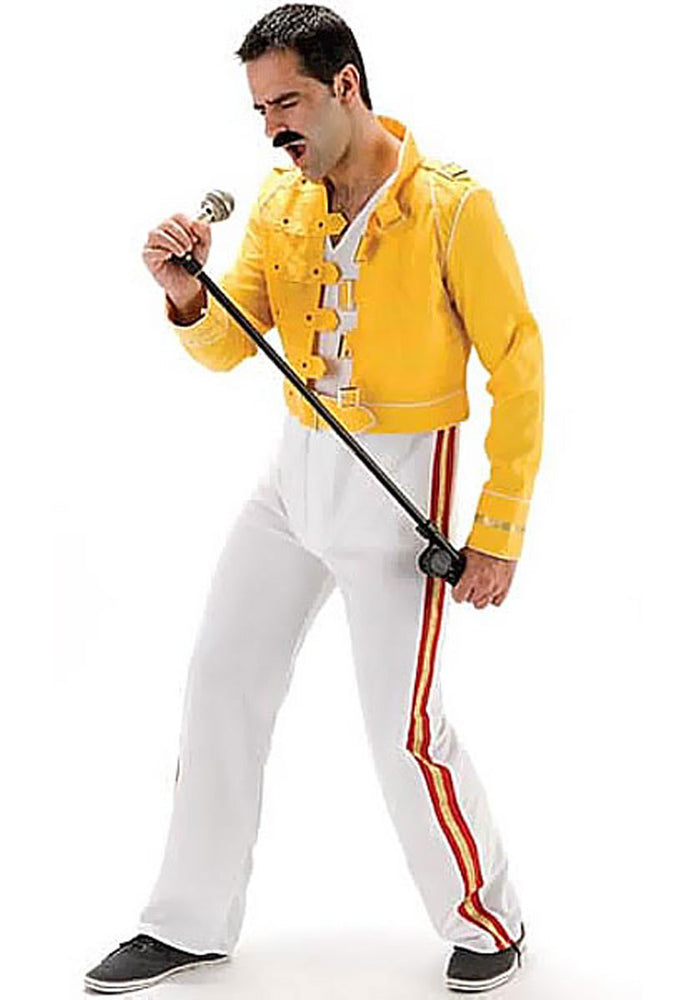 Freddie Mercury Fancy Dress, I Will Rock You Costume