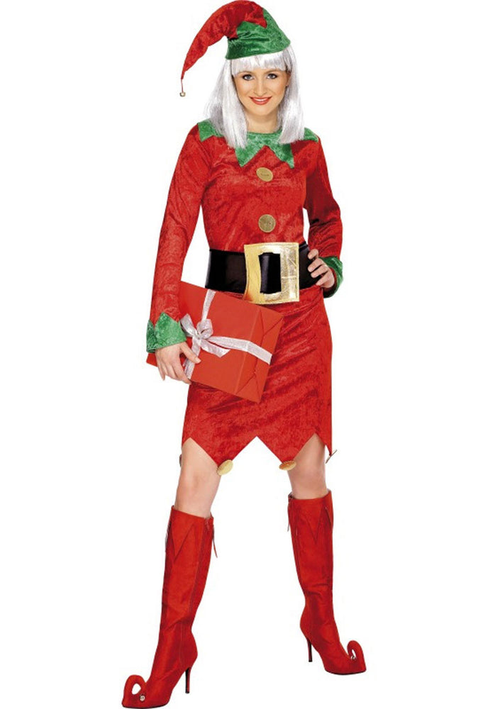 Deluxe Elf Lady Costume