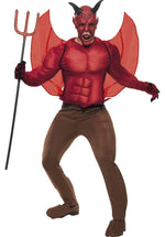 Devil Costume - Red/Brown