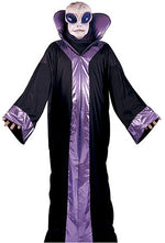 Alien Purple Deluxe Costume, Halloween Fancy Dress