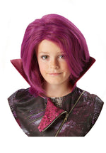 Official Disney's Descendants Mal Wig Fancy Dress Halloween