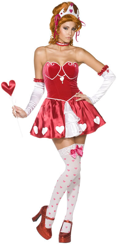 Queen of Hearts Costume, Rebel Toons