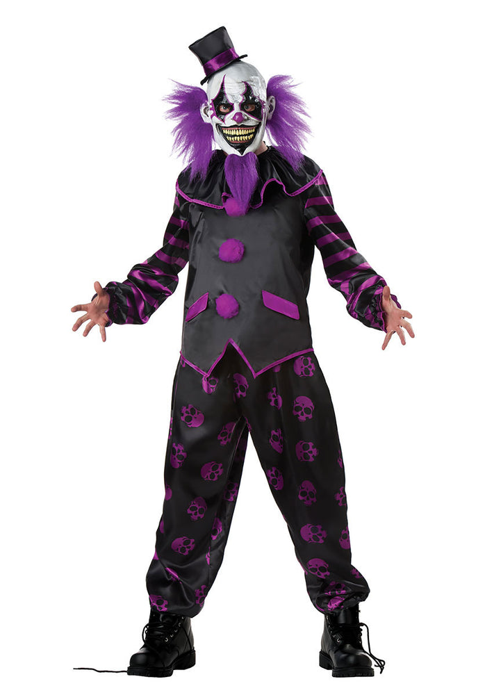 Bearded Clown Adult Costume