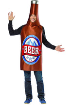 Adult Beer Bottle Lightweight Costume
