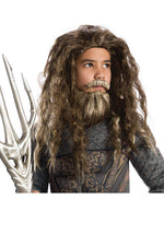 Aquaman Wig & Beard Set, Child