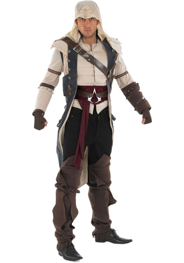 Adult Assassins Creed Jacket and Hood, Colonial Assassin