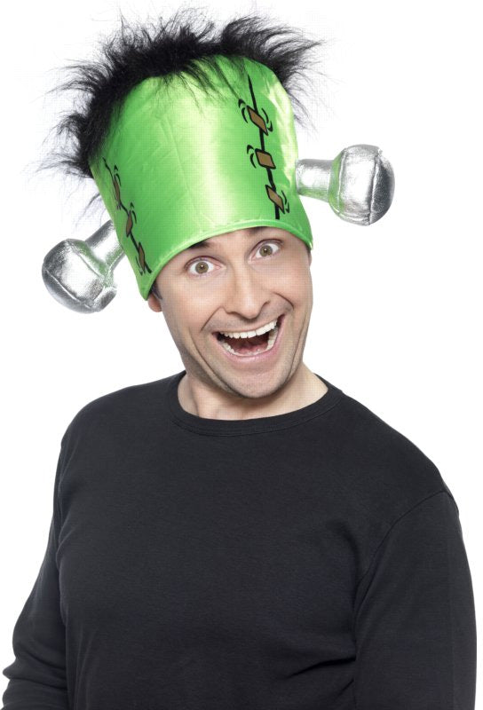 Frankenstein Hat With Hair
