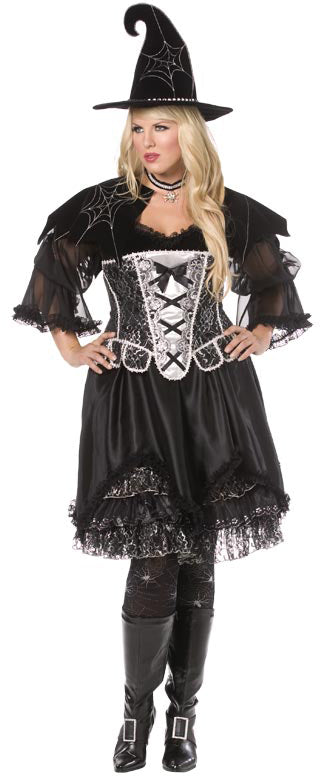 Spiderweb Witch, Bijou Boutique, Plus Size