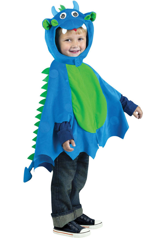 Toddler Blue Dragon Costume