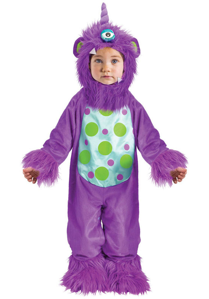 Purple Monster Costume, Lil Monster Costume in Toddler Size