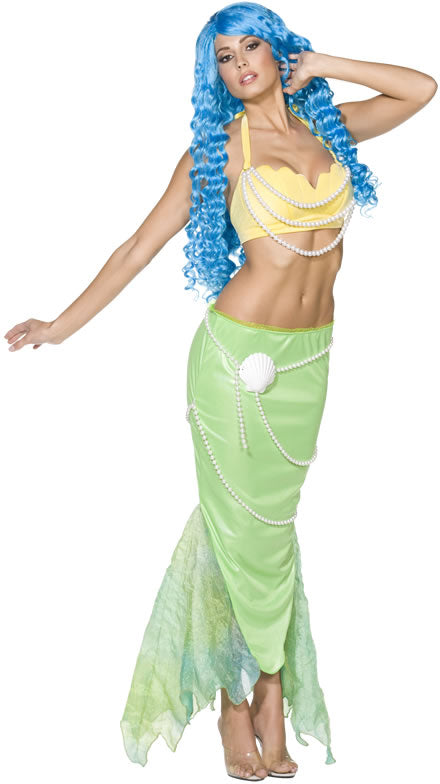 Rebel Toons Mermaid Costume, Fairy Tale Fancy Dress