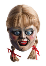 The Conjuring Annabelle Mask Possessed Haunted Doll Adult Unisex