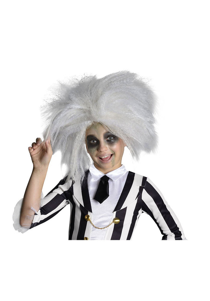 Childrens Beetlejuice Wig Fancy Dress Accessory Movie Theme